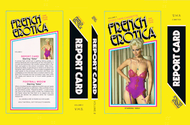 seka french erotica volume 2 report card football widow 1979